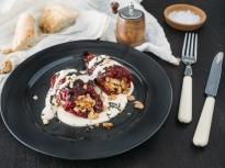 Пълнени чушки с белен боб и орехи