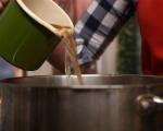 Рибена супа с къри и сметана 3