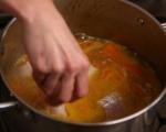 Рибена супа с къри и сметана 6