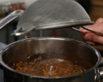 Топла салата със спелта