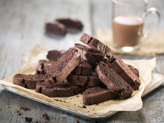 Шоколадови бишкоти