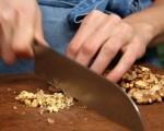 Салата от целина с орехи и пармезан 3