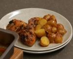 Пилешки бутчета с картофи на фурна 6