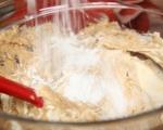 Бананов кекс с крем сирене и шоколад 6