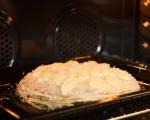 Палачинкова торта с шунка и спанак 11