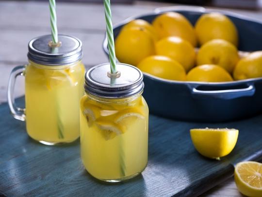 Лимонада с джинджифил и мед