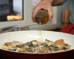 Пилешки рула с маслини 7