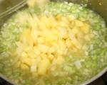 Зеленчукова супа с бекон и крутони 2