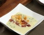 Зеленчукова супа с бекон и крутони 8