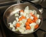 Свински джолан със салата от печени зеленчуци 2