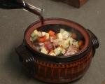 Свински джолан със салата от печени зеленчуци 3
