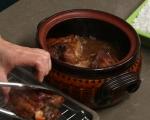 Свински джолан със салата от печени зеленчуци 5