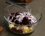 Свински джолан със салата от печени зеленчуци 7