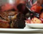 Свински джолан със салата от печени зеленчуци 9