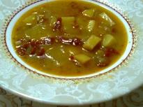 Зимна картофена супа