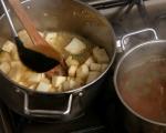 Супа от целина с магданозено олио 5