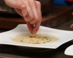 Супа от целина с магданозено олио 8