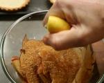 Тарталети с ябълки и козе сирене 6