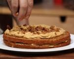 Ябълков кекс с орехи 9