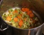 Гъбена супа с картофи и праз 3