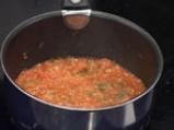 Пилешки шницел с португалски доматен сос 2