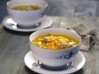 Супа от свински ребра и кисело зеле