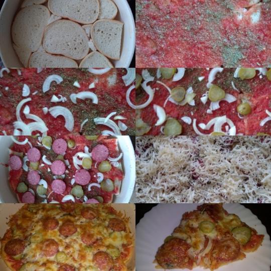 Хлебна пица