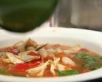 Пилешка супа с боб 6