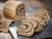 """""""Мраморен"""" ръжен хляб"""