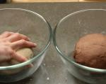 """""""Мраморен"""" ръжен хляб 4"""