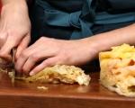 """Сандвич с телешко в стил """"Рубен"""""""