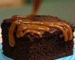 Пикантен шоколадов кейк  10