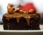 Пикантен шоколадов кейк  11
