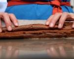 Шоколадово руло (без брашно) 8