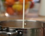 Супа от пъстърва с праз и суджук 11