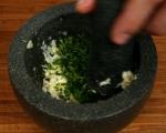 Супа от пъстърва с праз и суджук 12