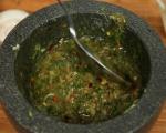 Супа от пъстърва с праз и суджук 13