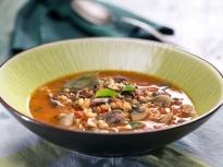 Телешка супа с перлен ечемик