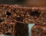 Блокчета от овесени ядки с шоколад и череши 5