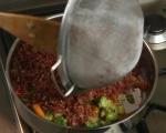 Червен ориз със зеленчуци 4