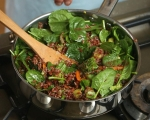 Червен ориз със зеленчуци 6