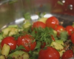 Печени зеленчуци в тесто 3