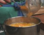 Портокалово желе с ягодов сос 4