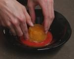 Портокалово желе с ягодов сос 7