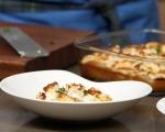 Запечени картофи с розмарин и козе сирене 5
