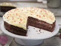 Шоколадово-кокосова торта