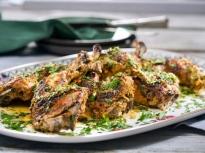 Мариновани пилешки бутчета на фурна