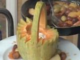 Кошничка от пъпеш с пресни плодове 3