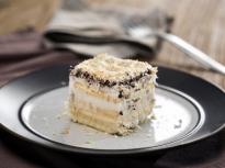 Кокосова бисквитена торта (постна)