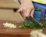 Руло от кайма с печени зеленчуци